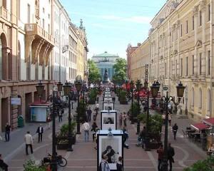 St. Petersburg perakende sektörü