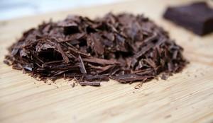 Çikolatada parçacık boyutu dağılımı testi için hazırlanmış örnek