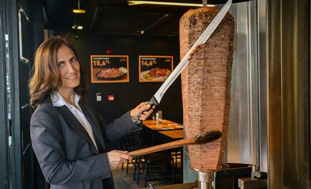Global Restoran Yatırımları A.Ş. Genel Müdürü Bahar Özürün: ''Döneri dünya markası yapacağız''