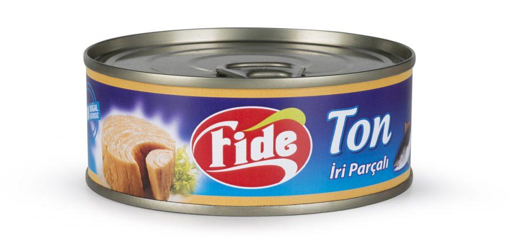 Fide Konserve'nin yeni ürünü: Ton balığı