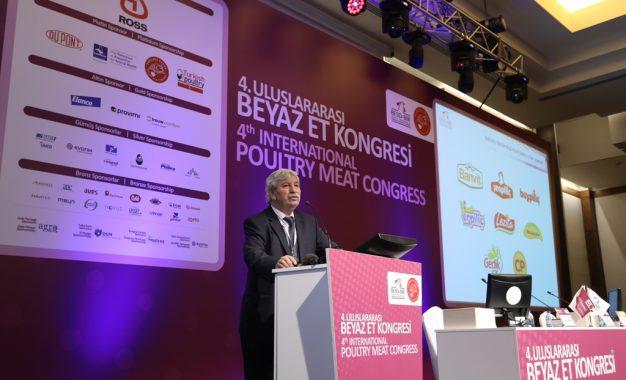 4.Uluslararası Beyaz Et Kongresi Antalya'da başladı