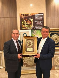 Ermenek Belediye Başkanı Uğur Sözkesen - Toros Helva sahibi Ali Aydoğdu