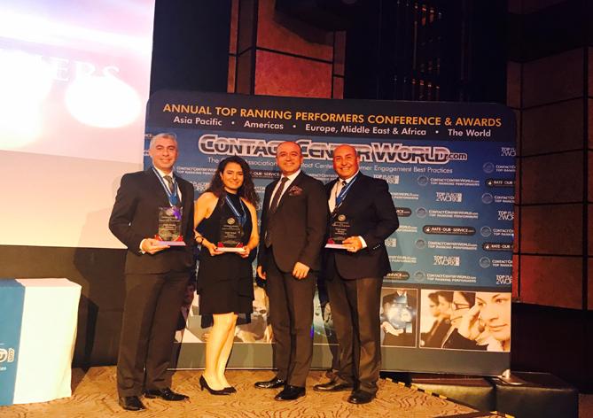 Arçelik A.Ş. Contact Center World Yarışması'ndan üç ödülle döndü