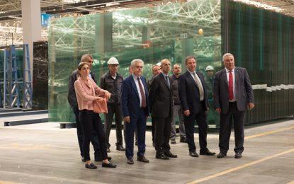 İtalya Büyükelçisi Mattiolo, Şişecam'ı ziyaret etti