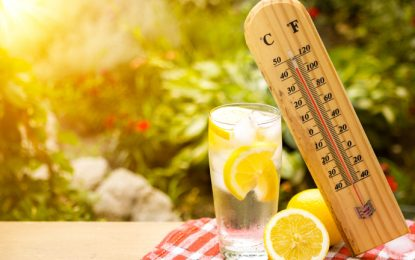 Güneş çarpmasına karşı en az iki litre su!