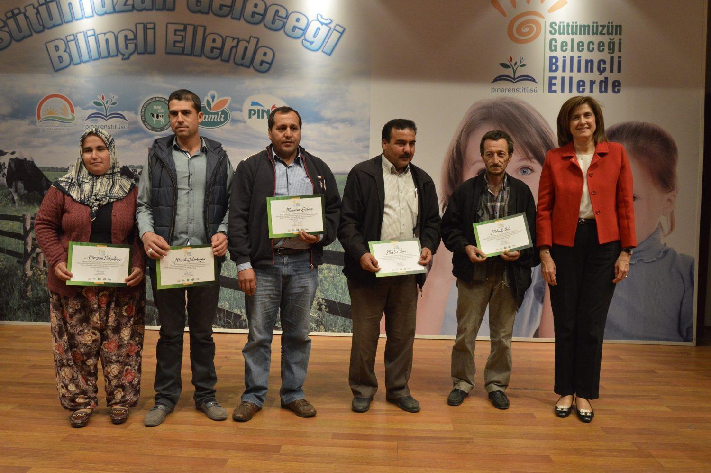 Pınar Enstitüsü, süt çiftçilerini desteklemek için BCtA'e katıldı