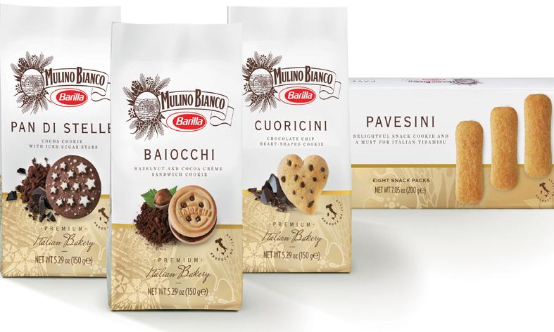 Mulino Bianco tatlı bisküviler