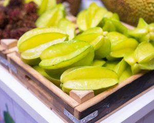 Yıldız meyvesi antioksidan özelliğe sahip