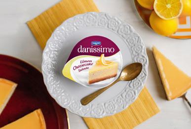 """Danissimo'dan """"Limon Cheesecake"""" ve """"Çikolatalı Gofret Topları"""""""