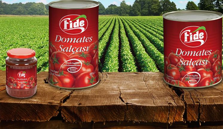 Fide Konserve'den domatese yüksek fiyat