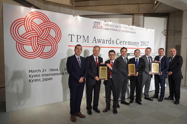 """Eti'nin fabrikaları, TPM'in """"Özel İleri Uygulama Ödülü'' ile ödüllendirildi"""