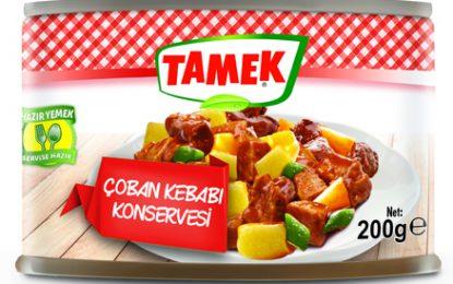 Türk Silahlı Kuvvetleri'nin et konserveleri Tamek'ten