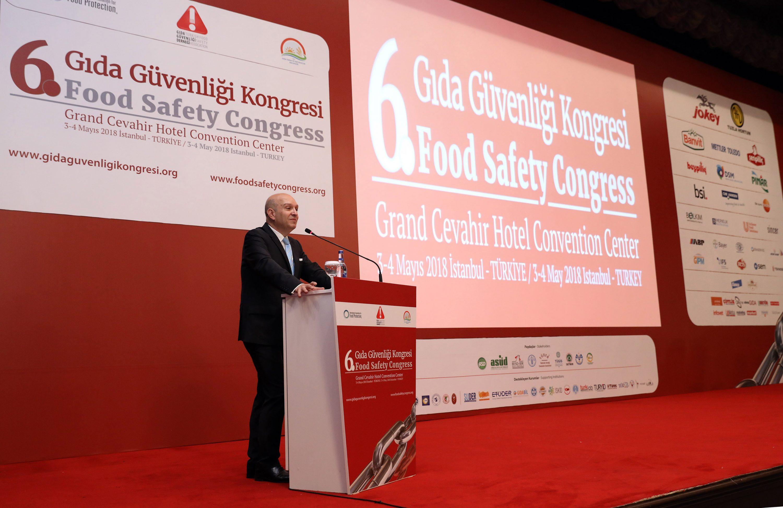 6. Gıda Güvenliği Kongresi başladı