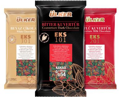 Ülker'in kuvertür çikolata serisi yenilendi