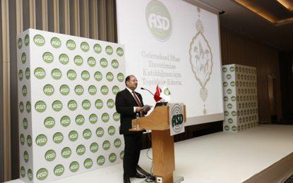 Ambalaj sanayicileri ASD iftarında bir araya geldi