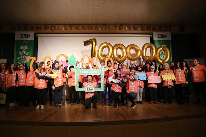 TEMA Vakfı'nın gönüllü sayısı 700 bini aştı