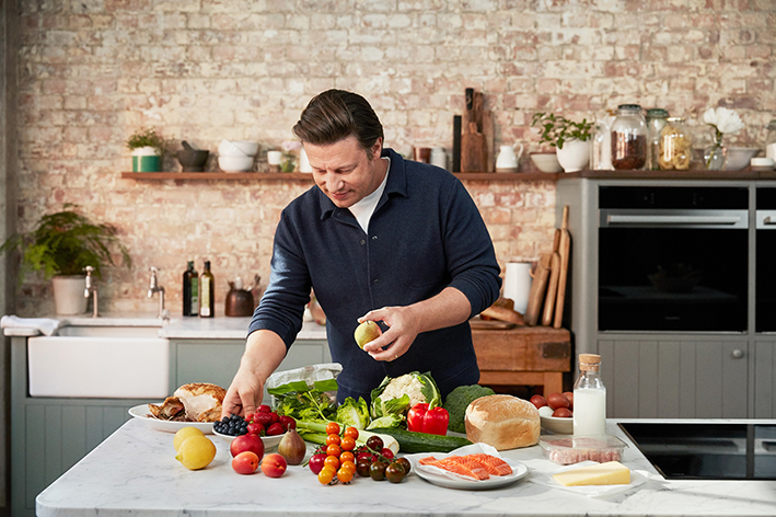 Hotpoint ve Jamie Oliver gıda israfına karşı el ele