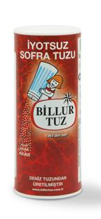 Billur Tuz'dan iyotsuz tuz