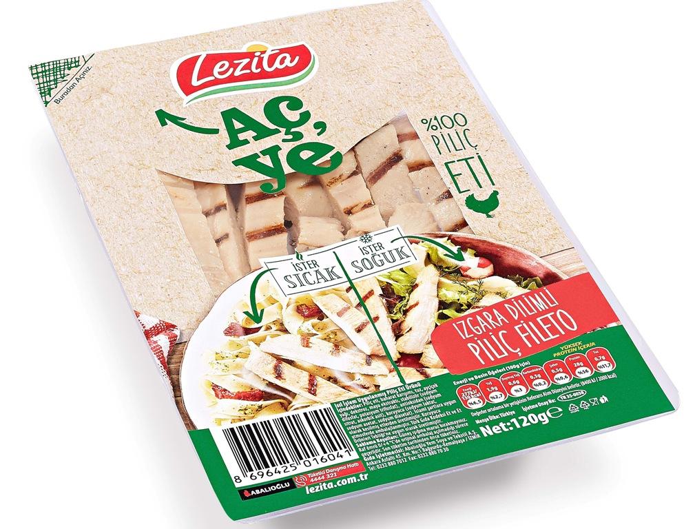 "Lezita ""Aç Ye"" Izgara Dilimli Piliç Fileto"