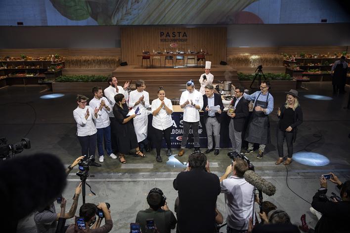 Dünya Makarna Şampiyonası'nın galibi belli oldu