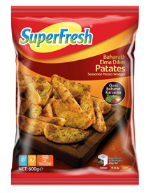 SuperFresh'ten Baharatlı Elma Dilim Patates