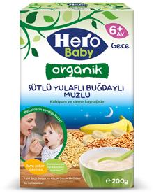 Hero Baby Tahıllı Mamalar şimdi organik