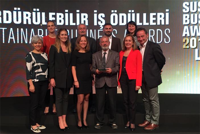 Nestlé'ye Sürdürülebilir İş Ödülü