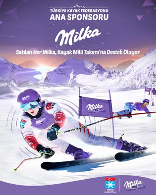 Milka'dan Türk kayağına destek
