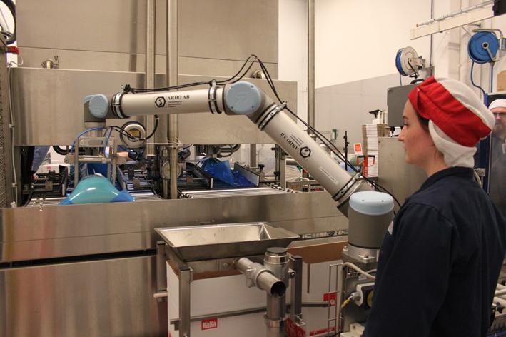 Universal Robots gıda üretimini hızlandırıyor