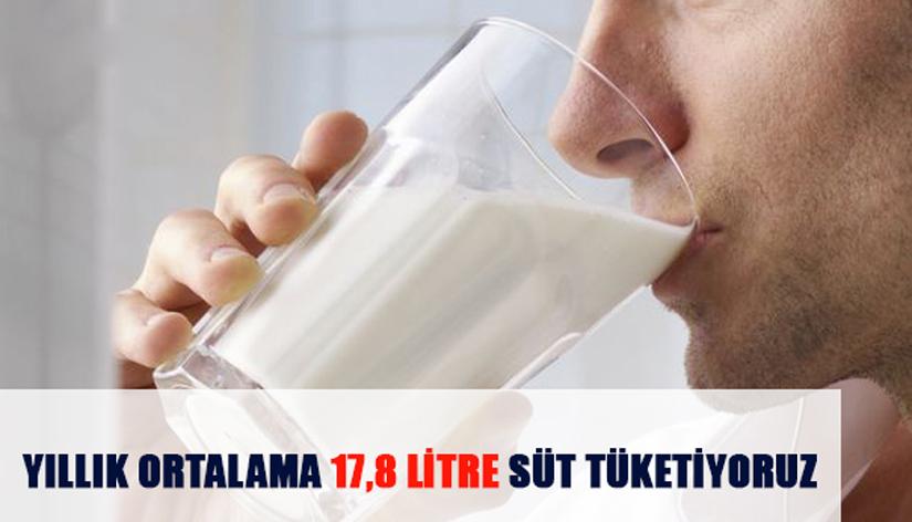 Süt tüketiminde listenin sonundayız