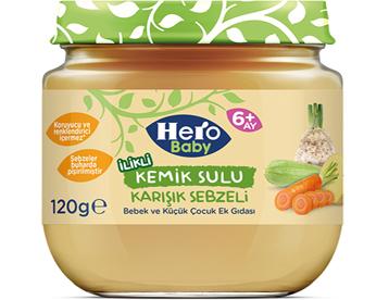 Hero Baby Kemik Sulu Sebze Püreleri