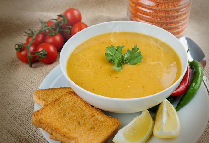 Türkler en çok mercimek çorbası seviyor