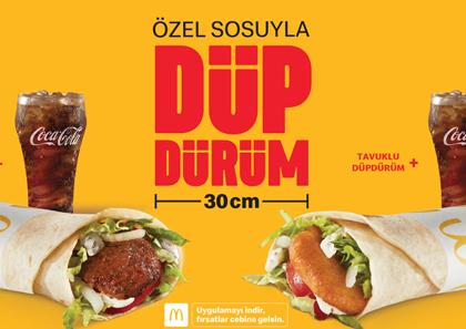 McDonald's'tan yerel bir tat: Düpdürüm