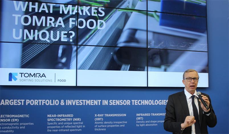 Tomra CEO'su Ranstrand: Gıda ısrafını azaltmada müşterilerimize yardımcı oluyoruz