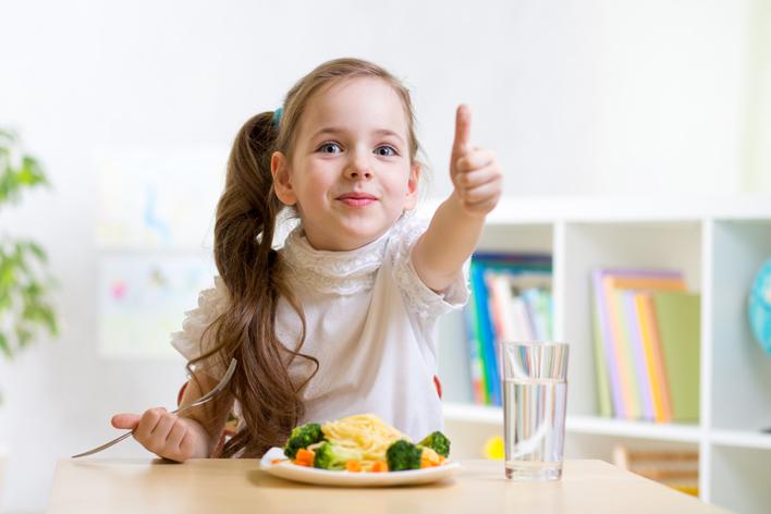 Doğru beslenen çocuklar sağlıklı büyüyor