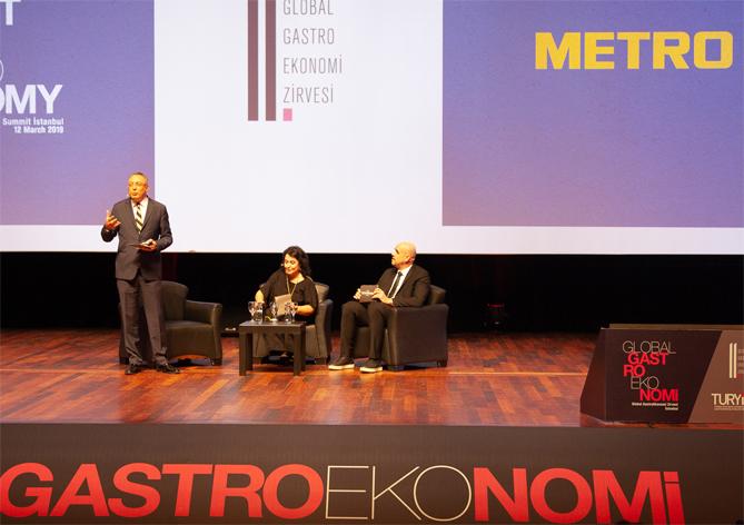 Metro Türkiye, Global GastroEkonomi Zirvesi'ne katıldı