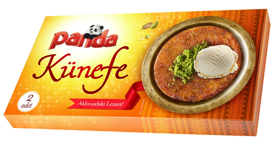 Dondurma markası Panda'dan künefe