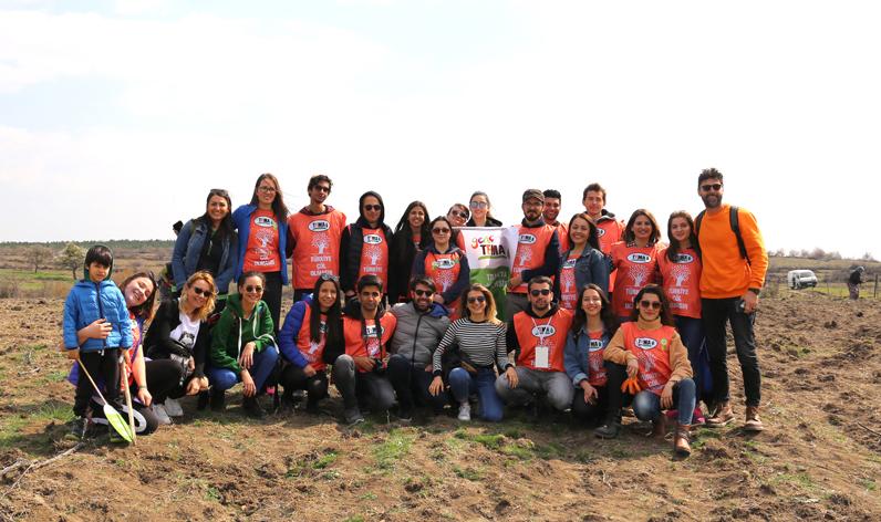 Ağaç Kardeşliği Projesi'nde fidanlar toprakla buluştu