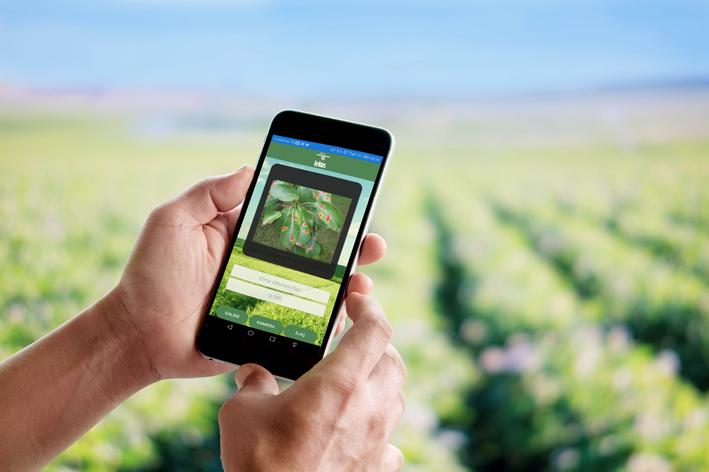 Hektaş çiftçilere akıllı tarım uygulamalarını anlatacak