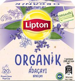 Lipton Organik Çay Serisi