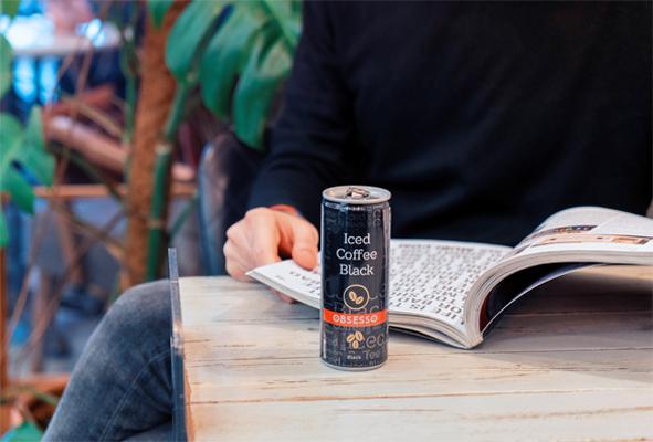 Dimes'ten hazır soğuk kahve: Obsesso