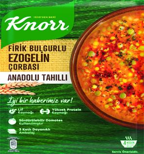 Knorr Anadolu Tahılları Çorba Serisi