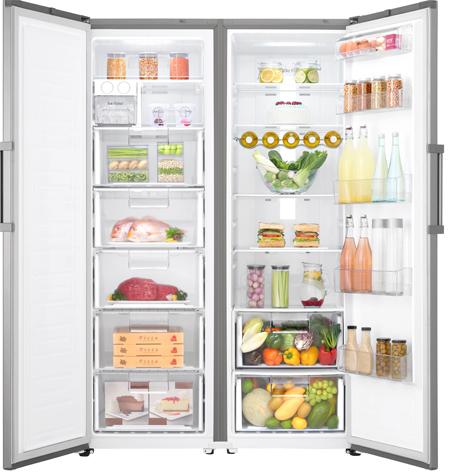 LG'den yeni buzdolabı ve derin dondurucu