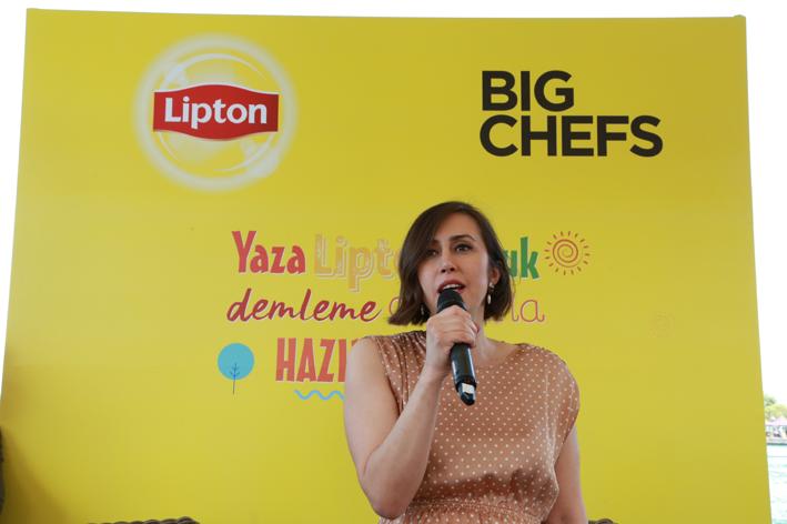 Lipton soğuk demleme çaylar BigChefs mönüsünde