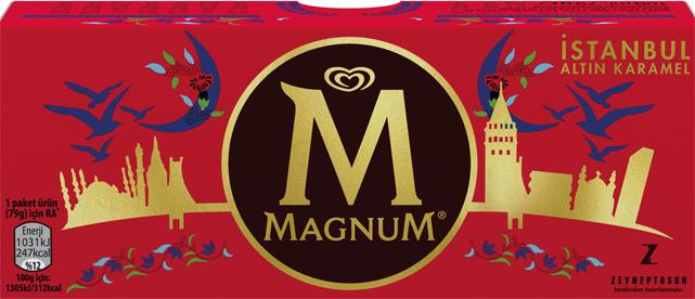 Magnum'un, 3 lezzetine sanatçı dokunuşu