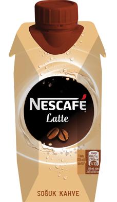 Yeni Nescafé Latte Serisi