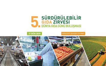 """Sürdürülebilir Gıda Zirvesi'nde """"gıda"""" konuşulacak"""