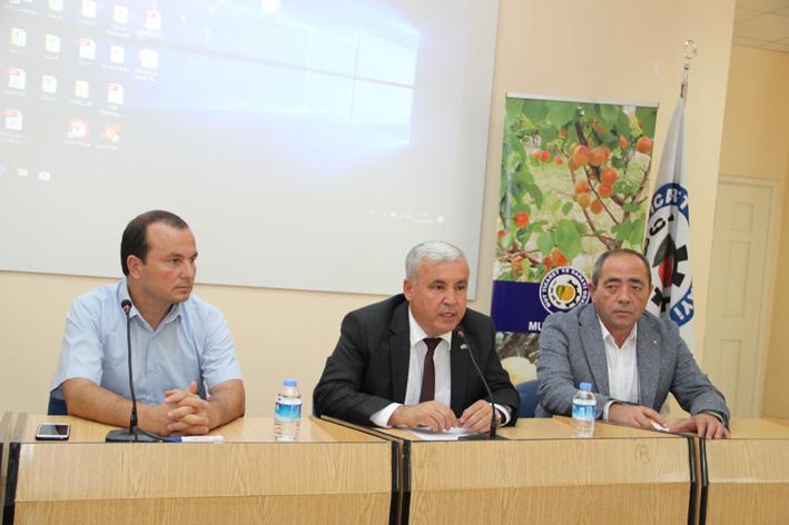 Zeytin ve zeytinyağı sektörü Mut'ta buluştu