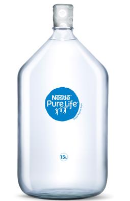 Nestlé Pure Life'tan yeni cam damacana
