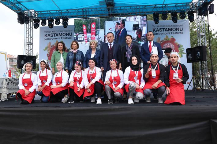 Kastamonu'nun ilk gastronomi festivali gerçekleştirildi